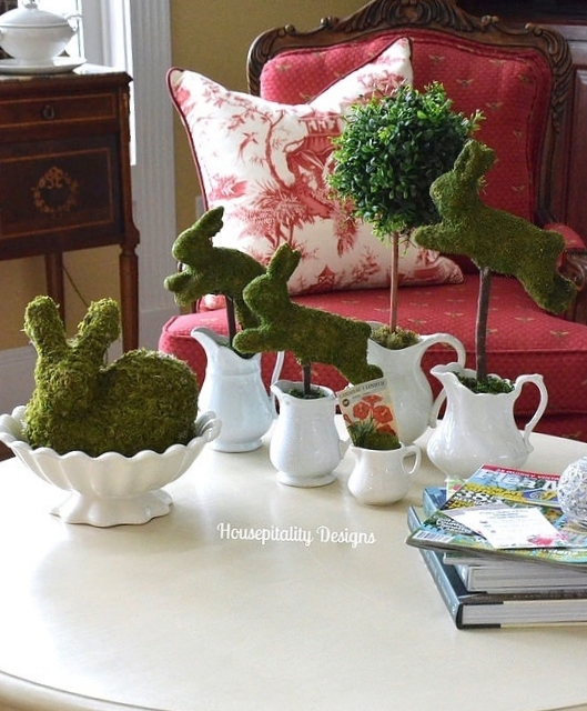 Ironstone and bunnies - Housepitality Designs