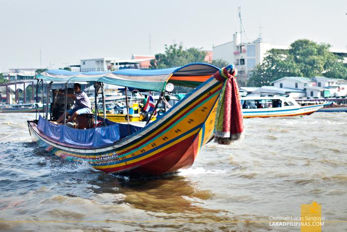 Chao Phraya River Tour Long Tail Boat