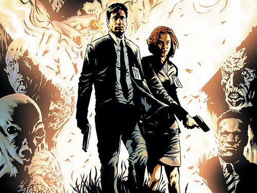 The X-Files - Comics - Art 4