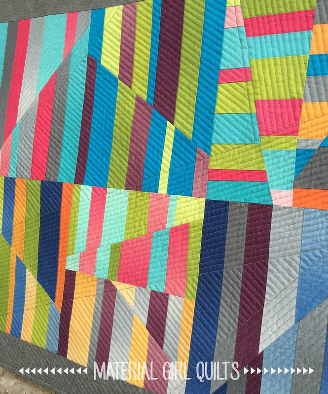 Aerial quilt detail