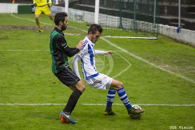 """Sestao RC 0-1 Real Sociedad """"B"""""""