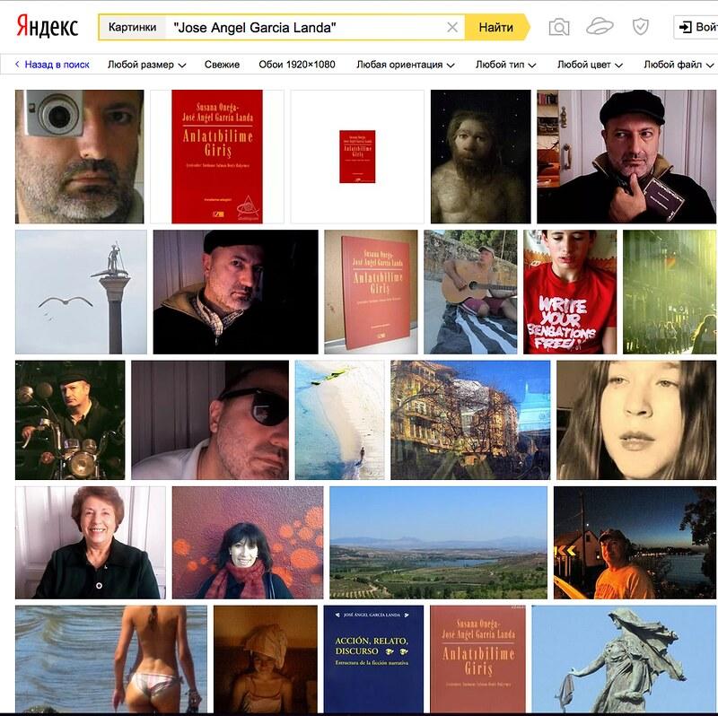 Mis imágenes según Yandex