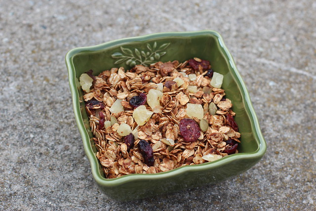Honey Pineapple Ginger Granola