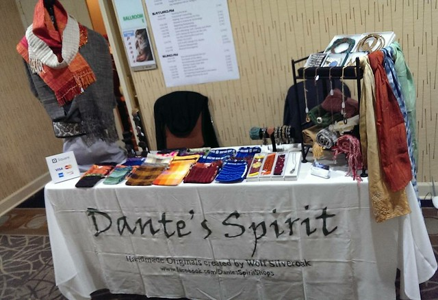 Last day of #mysticon , we're here until 3pm, do stop on by!  #nofilter  #dantesspirit