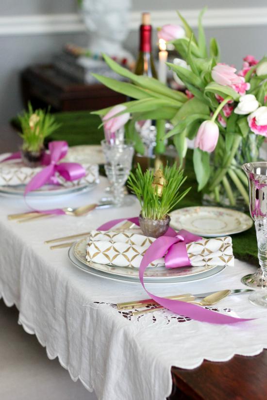 Hi Sugarplum | Easter Table