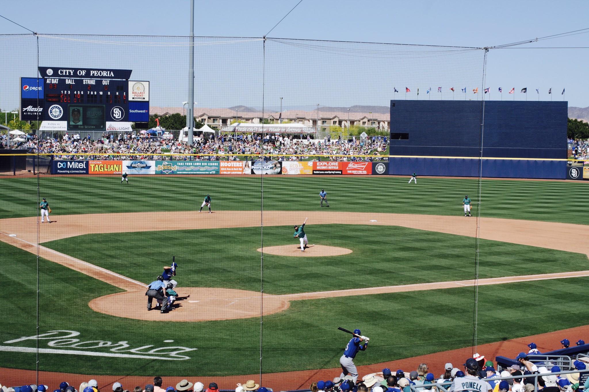 Peoria Sports Complex: Mariners vs. LAD SS