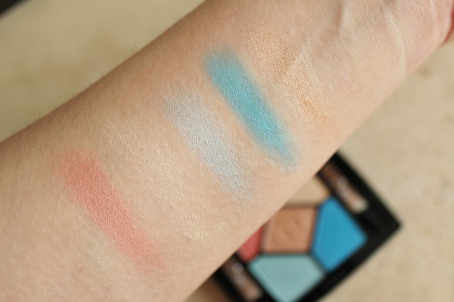 Dior Milky Dots 5 Couleurs Eyeshadow Palette in 366 Bain de Mer swatch