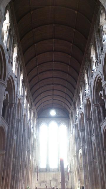 Nave, Romsey Abbey
