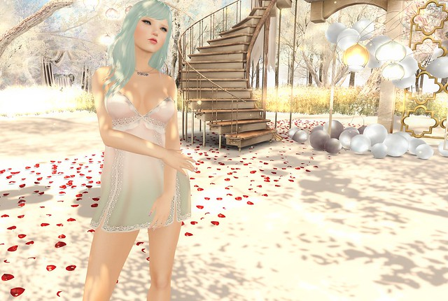 Katat0nik's Butterfly Lace Babydoll Dress