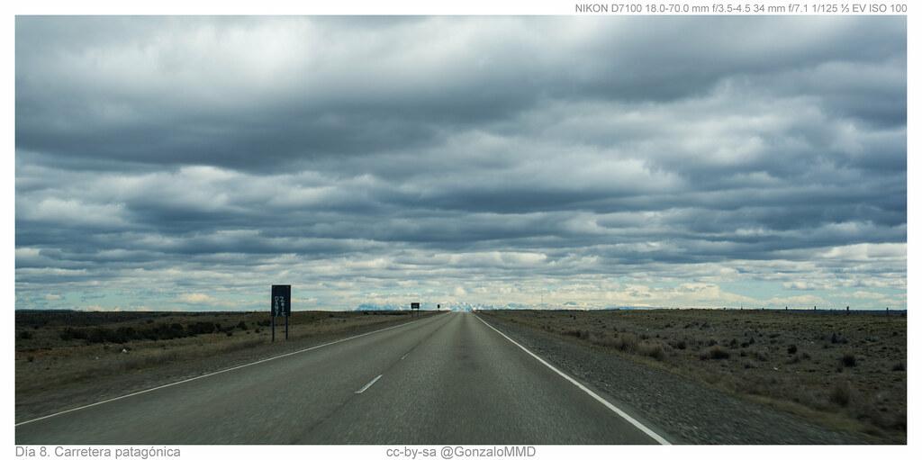 Día 8. Carretera patagónica