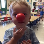 For Archer's teachers at school - the cutest little clown I have ever seen. by bartlewife
