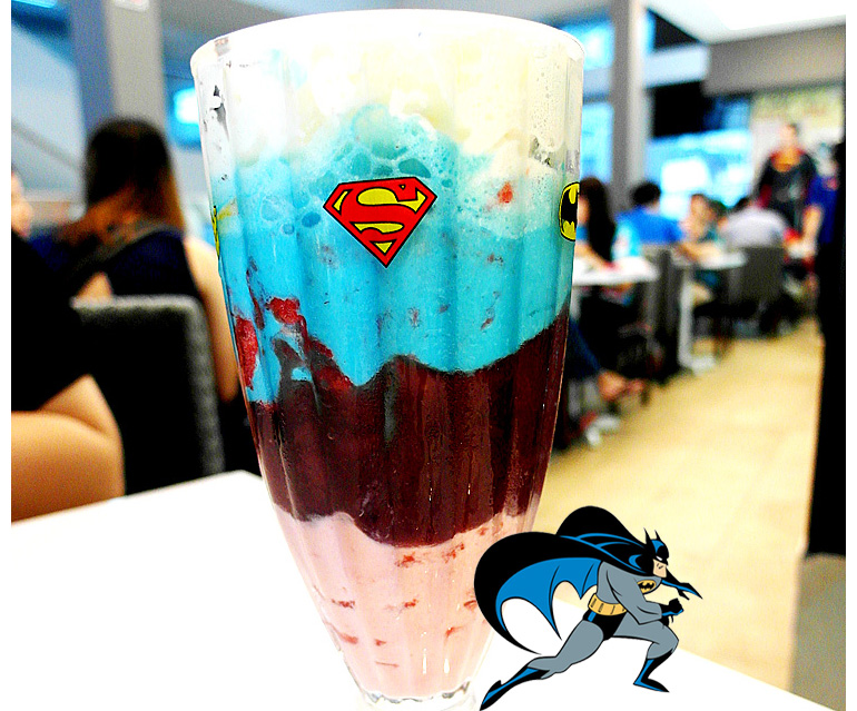 DC COMICS SUPERHEROES CAFE IN SINGAPORE