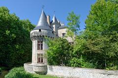 Charente Maritime - Château de Dampierre sur Boutonne