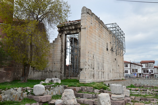 The Temple of Augustus and Rome with the Res Gestae Divi Augusti (