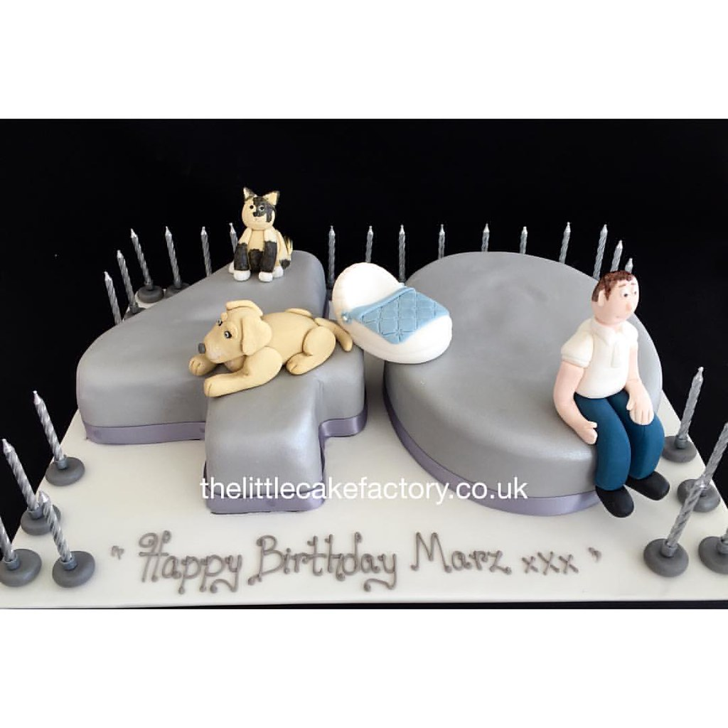 Silver 40th Birthday Cake 40 40th 40thbirthday Celebra