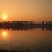 Sunrise and Reflection on Lake