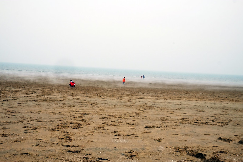 Rolling Mist on the beach at Sinduri Dune
