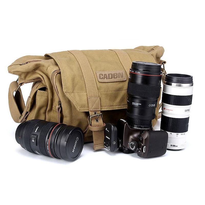 camera bag canvas caden f1