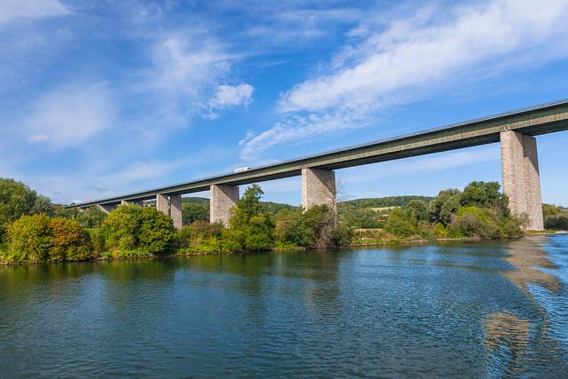 Danube river view. Germany