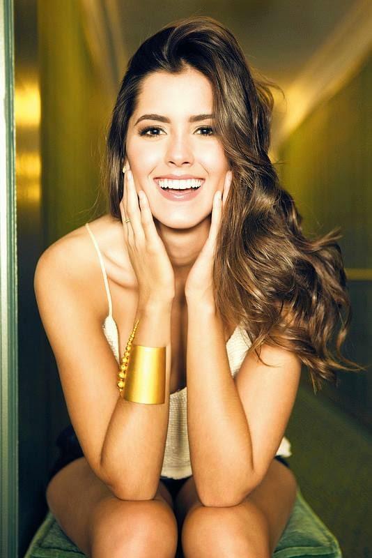 Самая красивая колумбийка - Паулина Вега