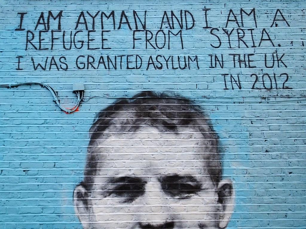 Pang street art, Camden