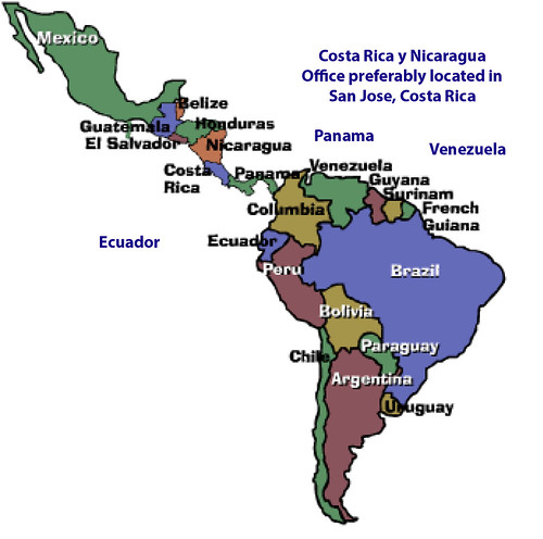 South and Central America Map Seeking Rep Blog 042116
