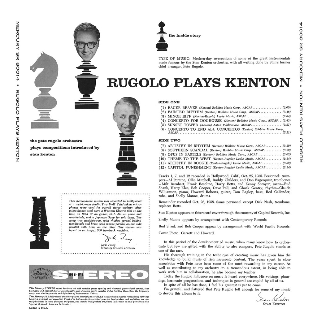 Pete Rugolo - Rugolo Plays Kenton