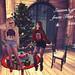 Kei and Thea by a Christmas tree, K-I-S-S-I-N-G by draGnet ★