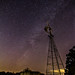 Milky Way Windmill by J. Moore Outdoor Photography