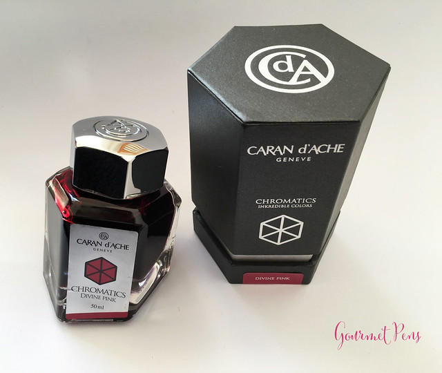 Ink Shot Review Caran d'Ache Divine Pink @BureauDirect (2)