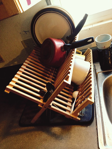 Bamboo Dish Rack (January 5 2015)