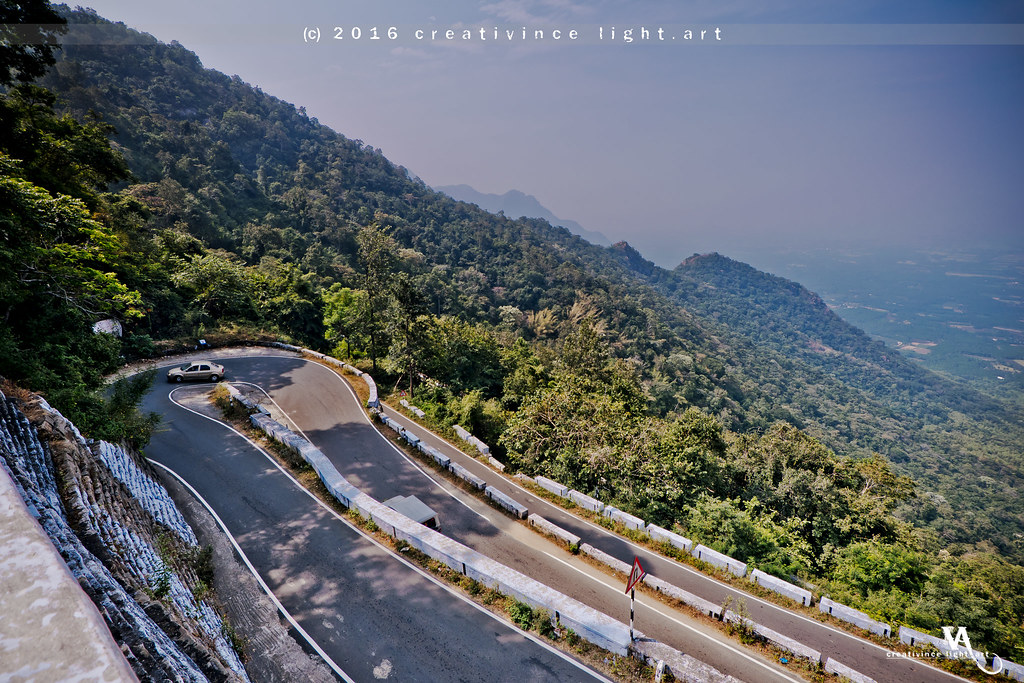 Hairpin bends (70 in all)