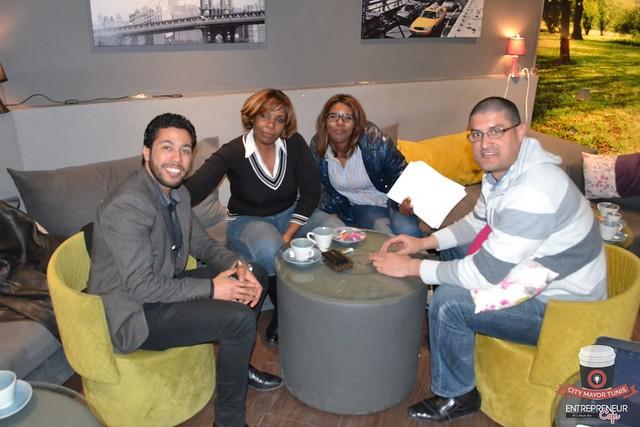 Entrepreneur Café Tunis@12ème Meeting