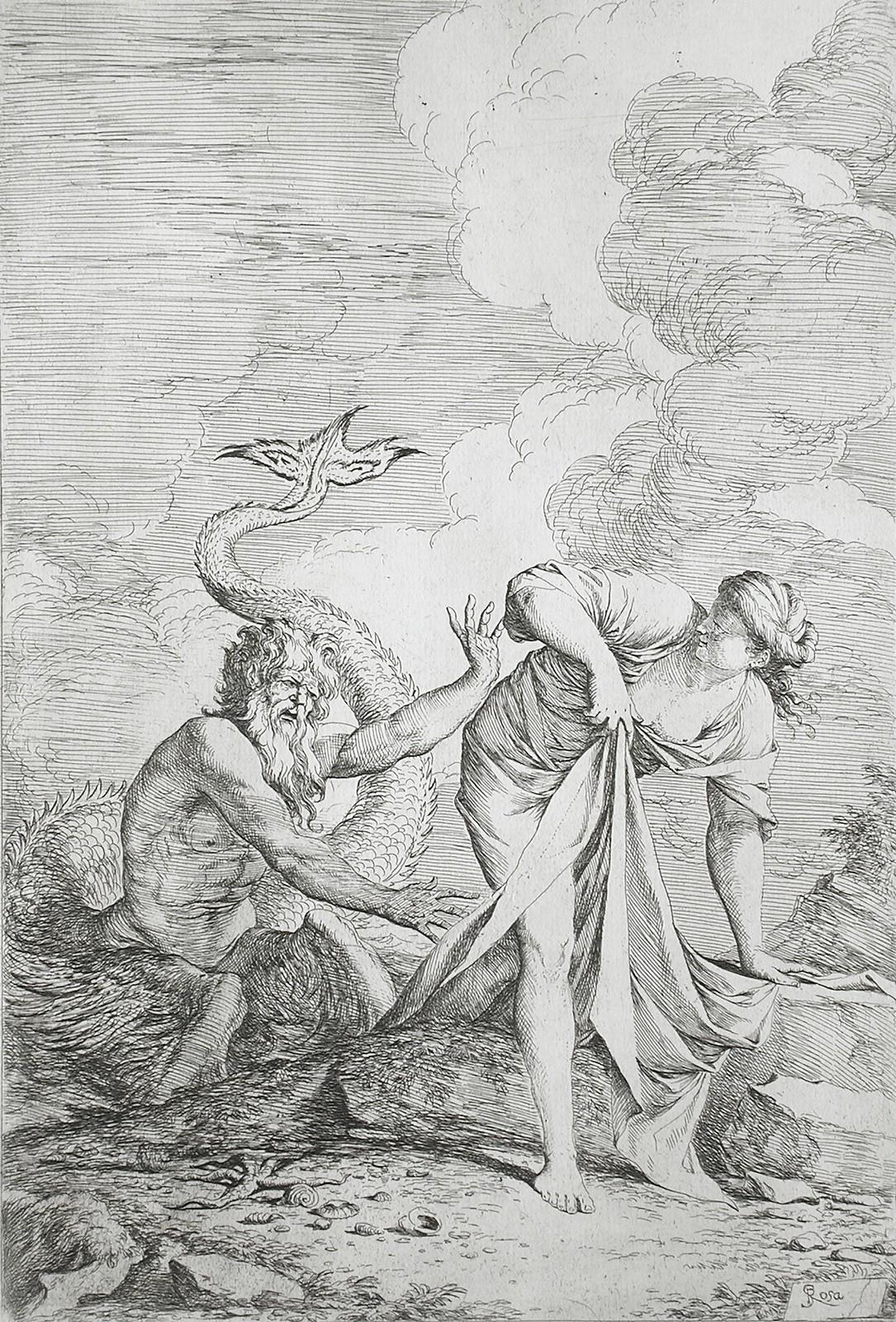 Salvator Rosa - Glaucus and Scylla, 1661