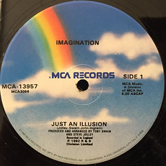 IMAGINATION:JUST AN ILLUSION(LABEL SIDE-A)
