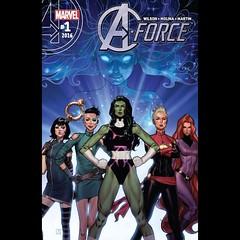 A-Force #1 capsule review at www.LongboxGraveyard.com. #comics