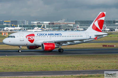 Czech Airlines Airbus A319-112 OK-MEK (875553)