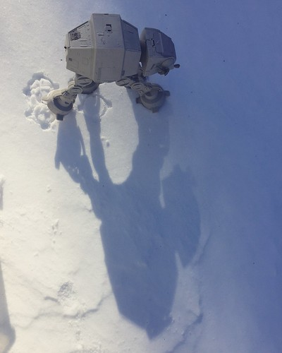 Star Wars fun in the snow!