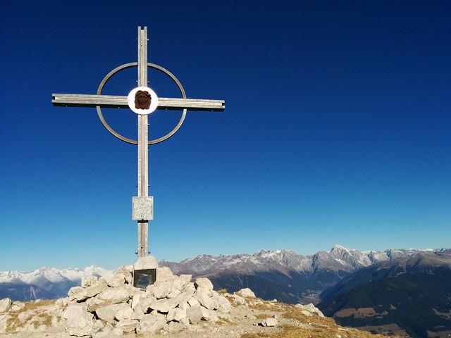 Gipfelkreuz Hochalpenkopf, Pragser Dolomiten Hochpustertal