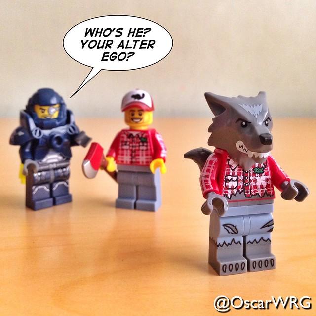 #LEGO_Galaxy_Patrol #LEGO #Lumberjack #Kel #AlterEgo #Wolf #WolfGuy #WolfMan #Werewolf @lego_group @lego @bricknetwork @brickcentral @bricksetofficial