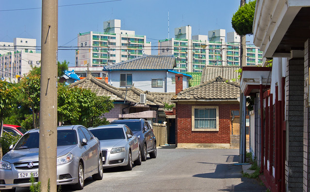 Colonial houses, Gunsan, South Korea