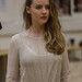 Kirsty Mackay in rehearsals for The Crucible, Lyceum Theatre