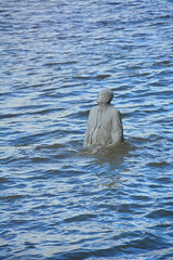 London, The Rising Tide By Jason Decaires Taylor, Underwater Sculptor