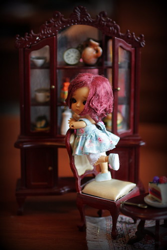 A Doll a Day Feb'16/ day 11/ on the shelf