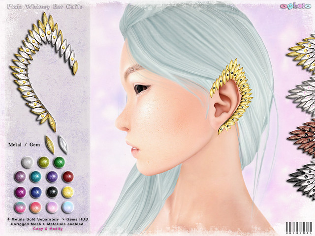 [ bubble ] Pixie Whimsy Ear Cuffs