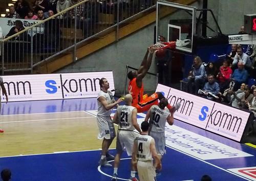 BBL: Crailsheim Merlins 71:85 Mitteldeutscher BC Weißenfels (Arena Hohenlohe)