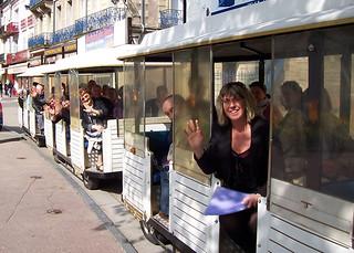 Petit train touristique de Plombières