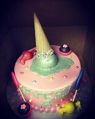 Melted Ice Cream Cake