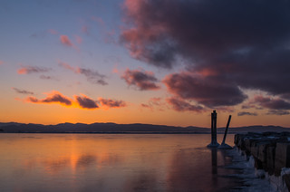 Lake Champlain Sunset | by Ethan McCandless