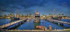 El Muelle de las Carabelas (La Rábida - Huelva)